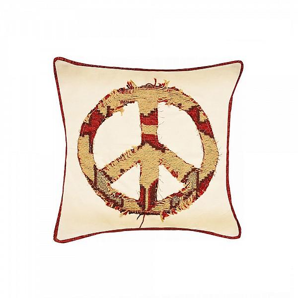 Pillowcase - Retazos Símbolo de la Paz