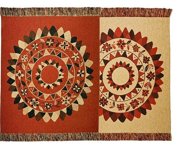 Blankets - Sun Mandala. Reversible Design