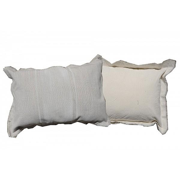 Pillowcase - Delta Pintado con fleco