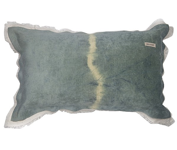 Pillowcase - Panne Shibori Con Tussor
