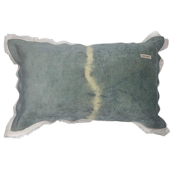 Pillowcase - Panne Shibori Con Tussor