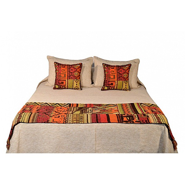 Pie de Cama - Patchwork