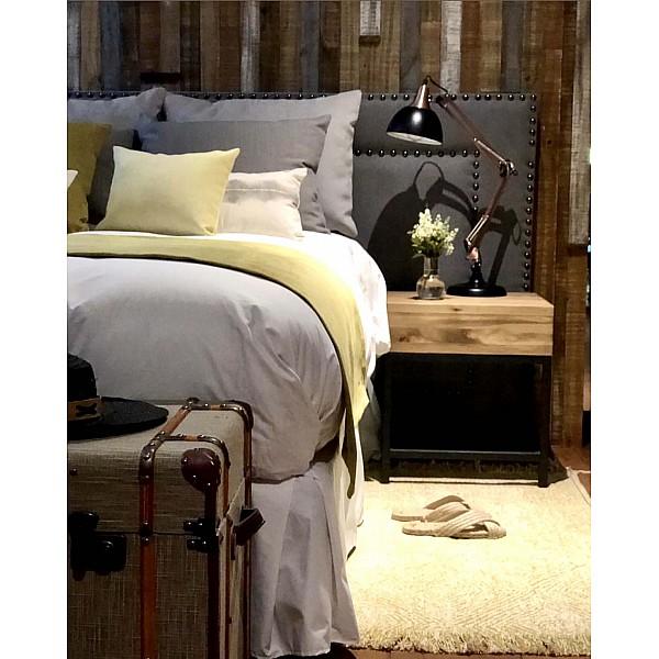 Bed Runner - Panne Plain