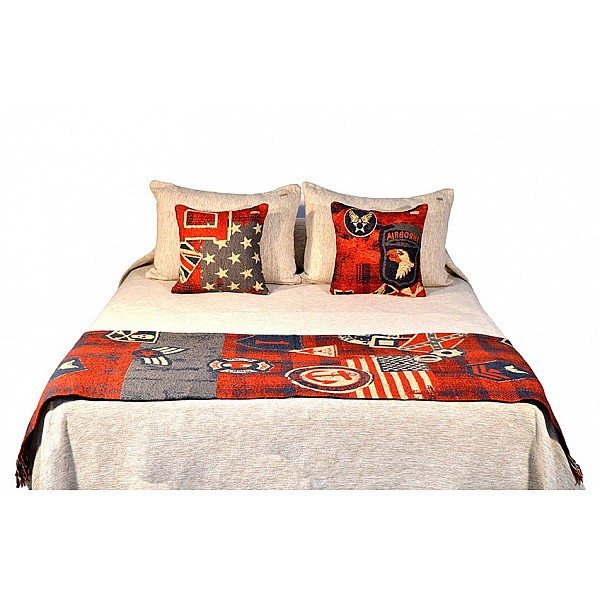Bed Runner - Parches