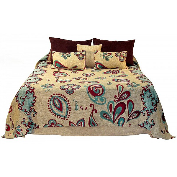 Coverlet - Paisley