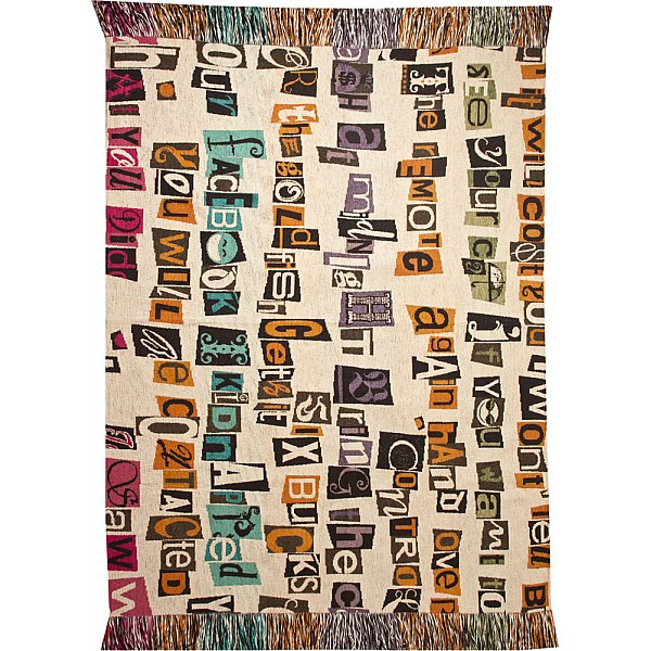 Coverlet - Letters