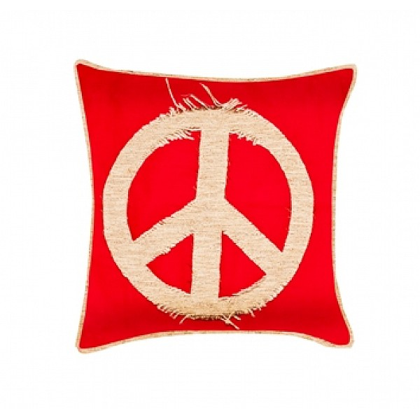 Pillowcase - Retazos Peace Sign