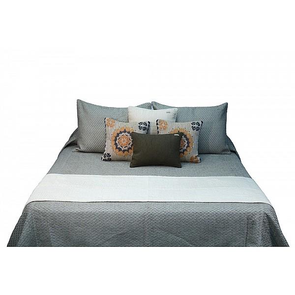 Bed Runner - Patch algodón