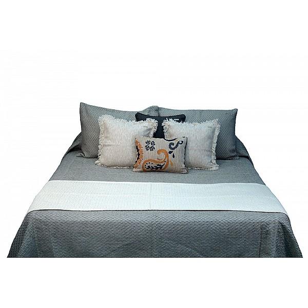 Bed Runner - Trenza Algodón